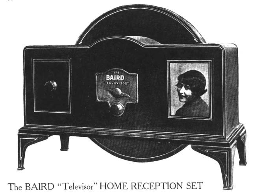 Resultado de imagen de primera television 1926